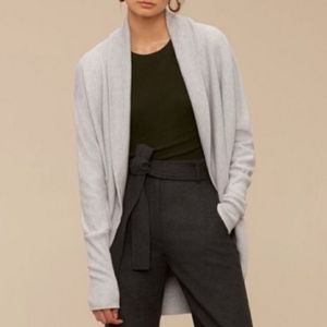 Aritzia Wilfred Diderot grey sweater medium